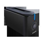 内蔵HDDをカセットみたいに抜き挿しできるInateckのHDDスタンドがubuntuでも使えて便利